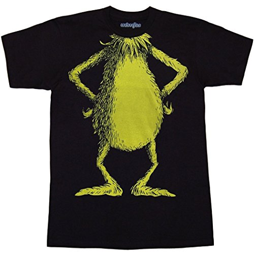 Dr. Suess Grinch Costume T-Shirt-X-Large