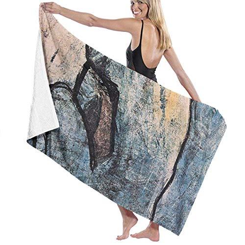 Eternityday Blue Nude von Picasso Saugfähiges schnell trocknendes Unisex-Badetuch für zu Hause im Freien großes Baby-Wickeltuch für den Haushalt
