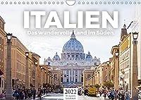 Italien - Das wundervolle Land im Sueden. (Wandkalender 2022 DIN A4 quer): Wundervolle Bilder aus Italien. (Monatskalender, 14 Seiten )