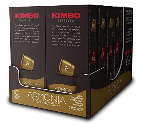 Kimbo Capsule Armonia Compatibili Nespresso 120 Capsule