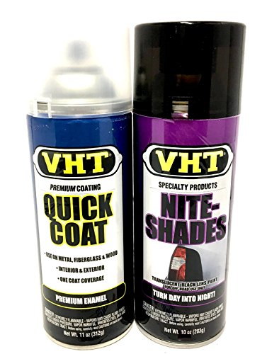 Nite-Shade & Clear Coat Blackout Kit Tinting Paint - VHT SP999 + SP515...