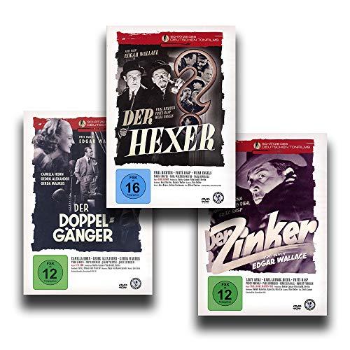 Die besten Edgar Wallace Krimis – Der Hexer / Der Zinker / Der Doppelgänger [3-DVD-Set]