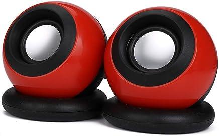 Busirde D-008 USB del Computer Portatile del Computer Portatile Mini Speakers Multimedia System Desktop PC Speaker Rosso - Trova i prezzi più bassi