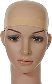 Light Beige Nylon Wig Caps for Women and Men