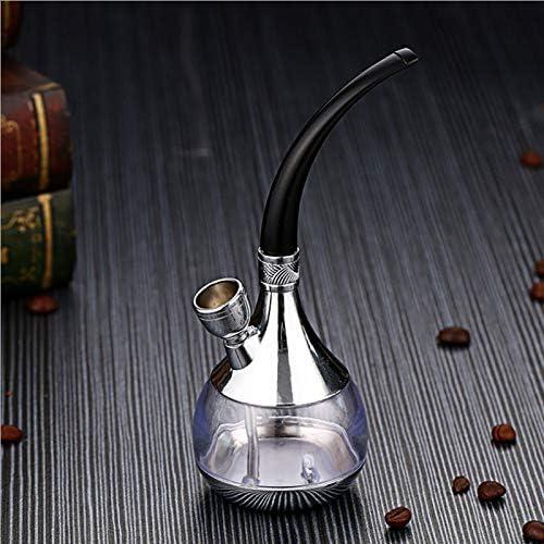 CZX Pipas Botella Nuevo Popular del Tubo de Agua portátil Mini Hookah Shisha de Tabaco Regalo del Metal de la Salud Filtro Tubo,B