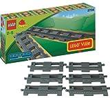 LEGO DUPLO–6Vías rectos–2734