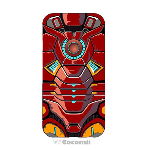 Cocomii Iron Man Armor HTC One A9 Case, Slim Thin Matte Vertical & Horizontal Kickstand Reinforced Drop Protection Fashion Phone Case Bumper Cover for HTC One A9 (Iron Man)