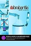 Brabantia - Juego de 2 bolsas de basura C, 10 – 12 litros, 40...