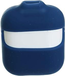 حافظ ايربودز سيليكون مزود بسلسلة للعنق - ازرق مائى