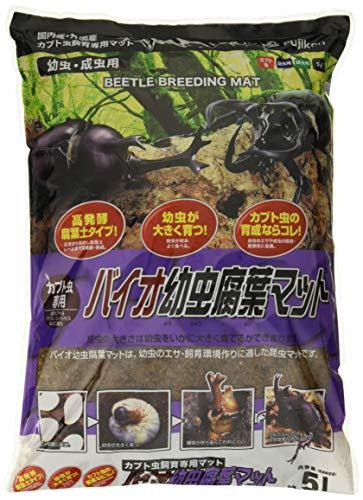 フジコン バイオ幼虫腐葉マット5L