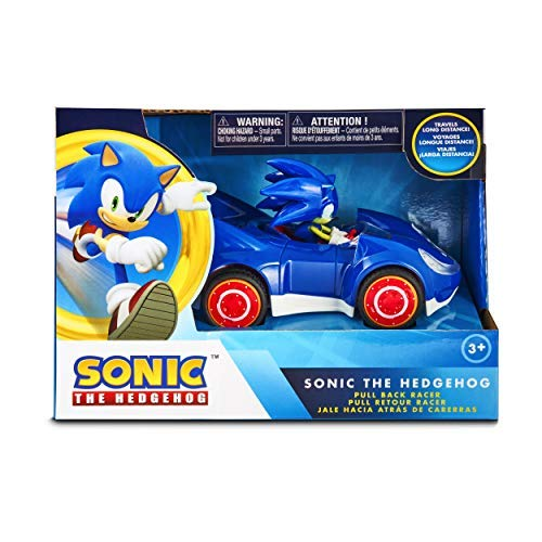 NKOK Sonic The Hedgehog All Stars Racing Pull Back Action -