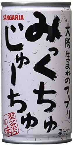 みっくちゅじゅーちゅ 190g×30本 缶