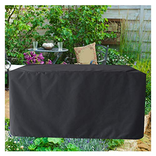 LITINGFC Garden Furniture Covers,Rectangular Outdoor Furniture Covers, Patio Furniture Covers Waterproof Windproof Garden Table Covers (Color : Black, Size : 190x135x90cm)