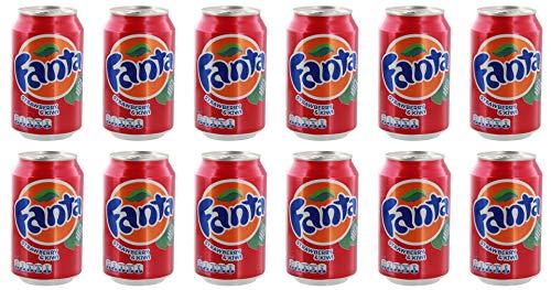 Fanta - Kiwi-Strawberry Limonade - 12x0,33l inkl. 3,00 Euro DPG-Pfand
