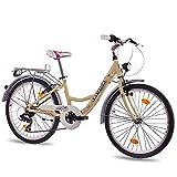 24'Polzades joventut ciutat bicicleta nenes bicicleta *CHRISSON *RELAXIA amb 7S *Shimano *TX Costa d'Ivori