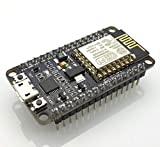 WITH CP2102 IC, Wi-Fi Module: ESP-12E module similar to ESP-12 module but with 6 extra GPIOs USB: Micro USB port for power, programming and debugging Headers: 2x 2.54mm 15-pin header with access to GPIOs, SPI, UART, ADC and power pins Miscellaneous: ...