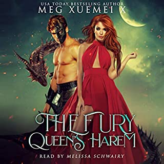 The Fury Queen's Harem: A Reverse Harem Dragon Fantasy  audiobook cover art
