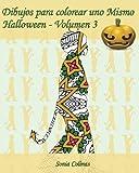 Dibujos para colorear uno Mismo - Halloween - Volumen 3: 25 figuras de niños con trajes de Halloween: Volume 3