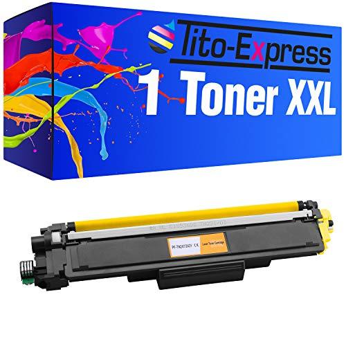 Serie Platinum 1 tóner XXL Yellow Brother TN-243 TN-247 DCP L3510CDW DCP L3550CDW HL-L3210CW HL-HL-L3230CDW L3270CDW MFC L3710CW MFC L3730CDN MFC L3750CDW MFC L3770CDW incluyendo chip de!