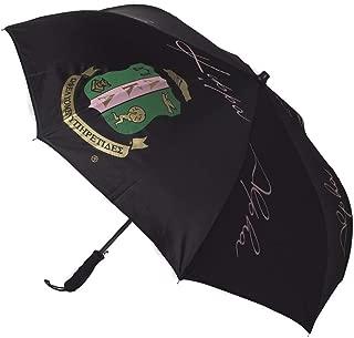 Black Inverted Crest Sorority Umbrella
