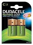 Duracell Recharge Ultra C Baby Akku Batterien LR14 3000 mAh