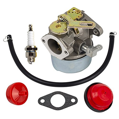 %7 OFF! HIFROM Carburetor Carb Kit with Fuel Filter Primer Bulb Replacement for Tecumseh 640084 6400...