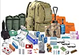 TSK Medical Ltd DREI Person - Überlebensrucksack - Viking 60L- Notgepäck Fluchtrucksack (Coyote)