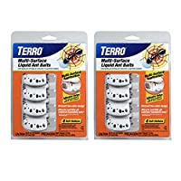 8 ant baits included Attracts and kills the household ants you see and the ants you don't Discreet, two-color design blends in with your décor Adhesive strips attach ant baits to walls or under cabinets Worker ants carry and deliver a Lethal dose to ...
