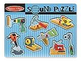 Melissa & Doug- Construction Tools Sound Puzzle (10733)