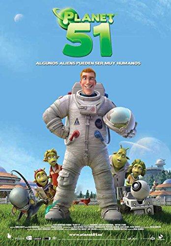 Planet 51 (Spanish) Poster (11' x 17')