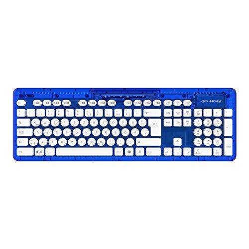 PC - Wireless Tastatur Rock Candy - blau