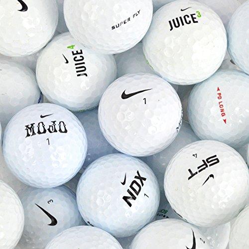 Nike Lot de 50 balles de Golf Assorties de qualité AAA/AA