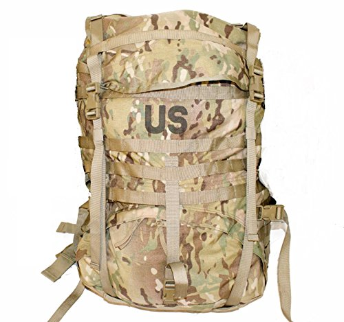 MOLLE MultiCam (OCP) Large Rucksack, NSN 8465-01-580-1556/8465015801556 (USGI Issue Backpack) (MultiCam (OCP) (No Sustainment Pouches))
