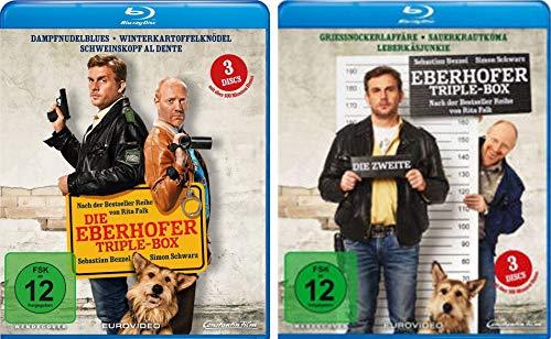 Eberhofer - Triple Box 1 + 2 (6 Filme Dampfnudelblues, Winterkartoffelknödel, Schweinskopf al dente, Grießnockerlaffäre, Sauerkrautkoma, Leberkäsjunkie) im Set - Deutsche Originalware [6 Blu-rays]