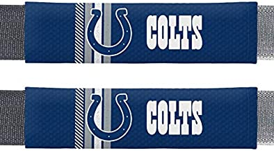 NFL Indianapolis Colts Rally DesignAuto Seat Belt Pads, Team Colors, One Size