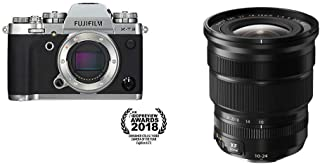 Fujifilm X-T3 Mirrorless Digital Camera (Body Only) - Silver + Fujinon XF10-24mmF4 R OIS