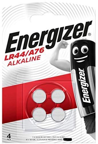 Energizer LR44/A76 Alkali Batterien, 1.5V, 4 Stück