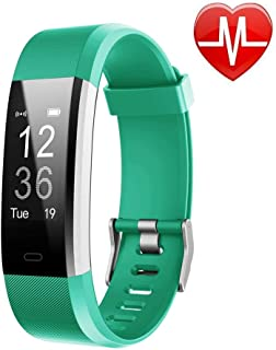 Lintelek Fitness Tracker with Heart Rate Monitor,...