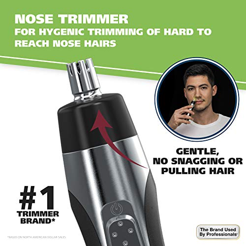 Wahl Ear, Nose and Brow Lighted Trimmer #5546-200