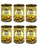 Margaret Holmes, Cut Okra, 14.5oz Can (Pack of 6)