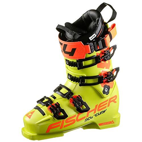 Fischer Herren RC4 Curv 130 Vacuum Skischuhe gelb 29.5