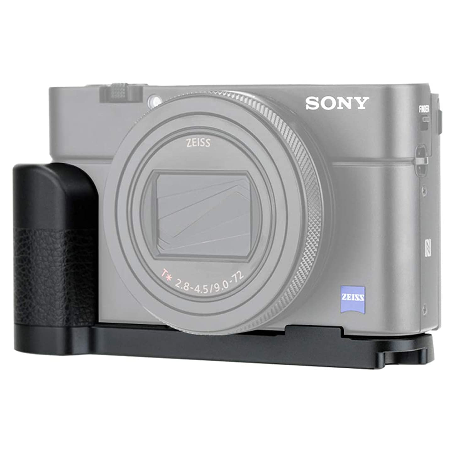 JJC Solid Metal Hand Grip Secure Handle for Sony RX100 VI RX100 VA RX100 V RX100 IV RX100 III RX100 II RX100 RX100M6 RX100M5A RX100M5 RX100M4 RX100M3 RX100M2 Digital Cameras