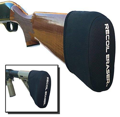 Recoil Eraser Slip on Recoil Pad, Gel Filled, Black