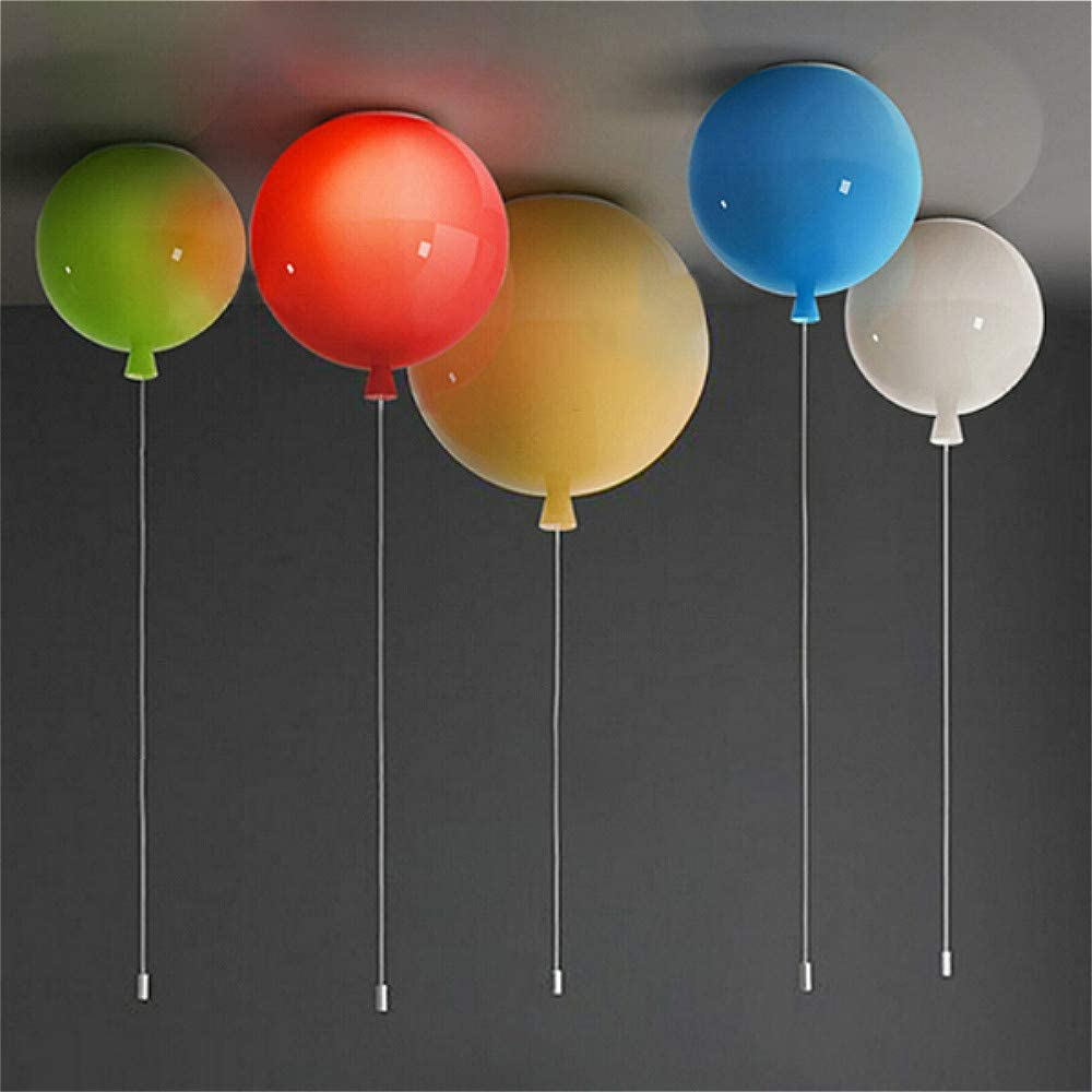 SUSUO Colorful Challenge the lowest price of Japan ☆ Balloon Design Acrylic Mount Globe Flush Ceiling low-pricing