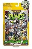 Plants vs Zombies Comic Book Pack Action Figure, 3'