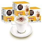 Nescafé Dolce Gusto Lot de 3 Paquets de Tasses avec gobelet Latte Macchiato Light Moins de Calories, café, Capsules de café