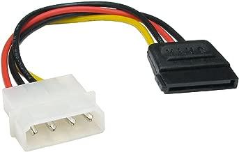 Molex LP4 4 Broches Vers SATA 15 Broches Alimentation adaptateur câble Cordon