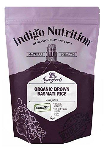 Indigo Herbs Arroz Integral Basmati Orgánico 1kg
