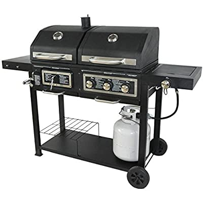 Dual Fuel Combination Charcoal/Gas Grill