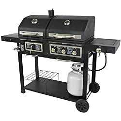 Can a Gas Grill Be Used With Charcoal?